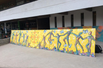 Murales a Santiago del Chile ,Liceo Bicentenario Teresa Prat