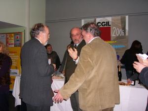 Assessore culura Comune Torino dott.Alfier, Vincenzo Scudieri i