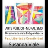Los Muralistas del Bicentenario: Susanna Viale (2016)